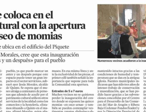 Quinto se coloca en el mapa cultural con la apertura de su museo de momias (Heraldo)