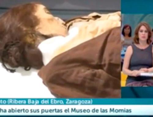 Inauguración del Museo de las Momias (Aragón Televisión)