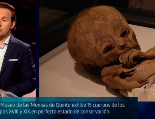 Cuarto Milenio habla del Museo de las Momias de Quinto (Cuatro)