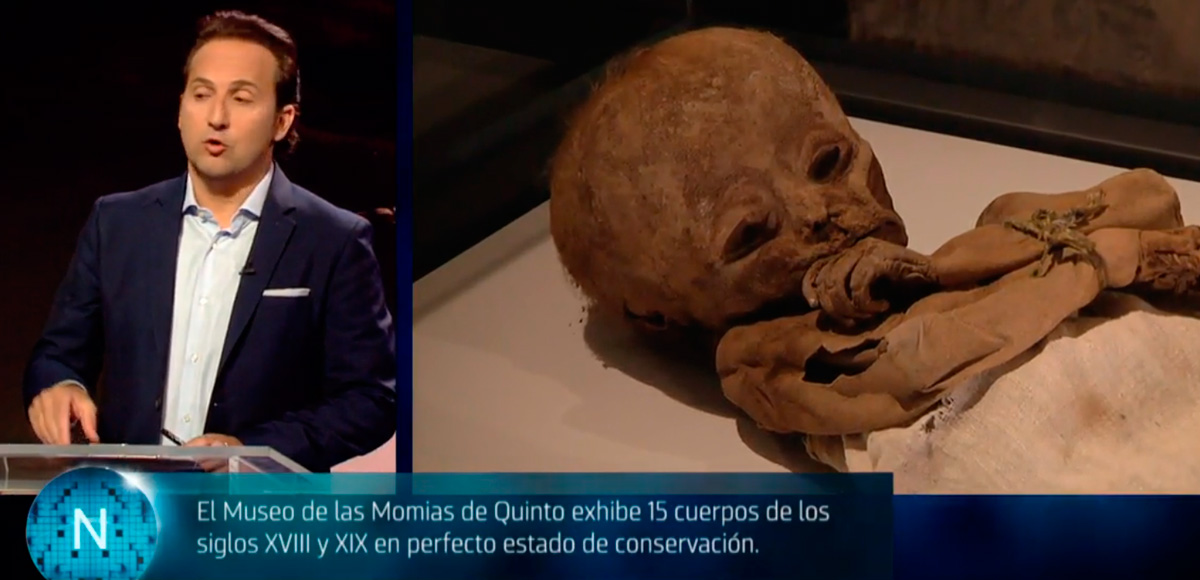 Cuarto Milenio habla del Museo de las Momias de Quinto (Cuatro ...