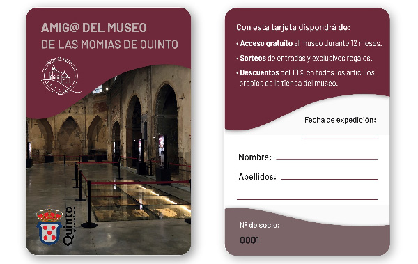 Become a friend of the museum
